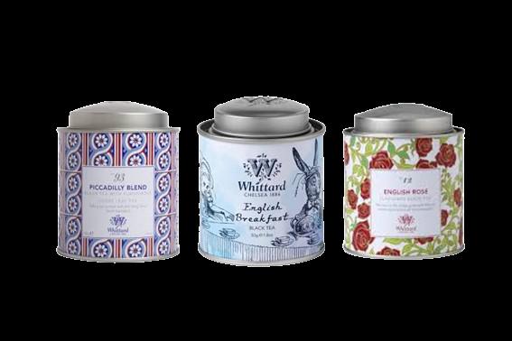 Tea Whittard - Confezione in metallo Image